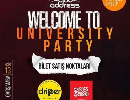 KOU Parti 2021 Welcome To University Party